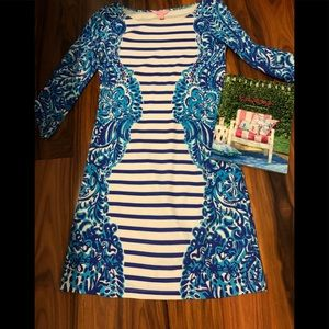 Lily Pulitzer Nilla Blue and and White NWOT Dress